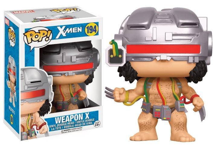 X-MEN - Bobble Head POP N° 194 - Weapon X LIMITED