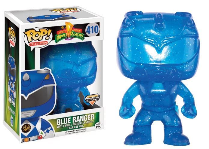 POWER RANGERS - Bobble Head POP N° 410 - Blue Ranger Morphing LTD