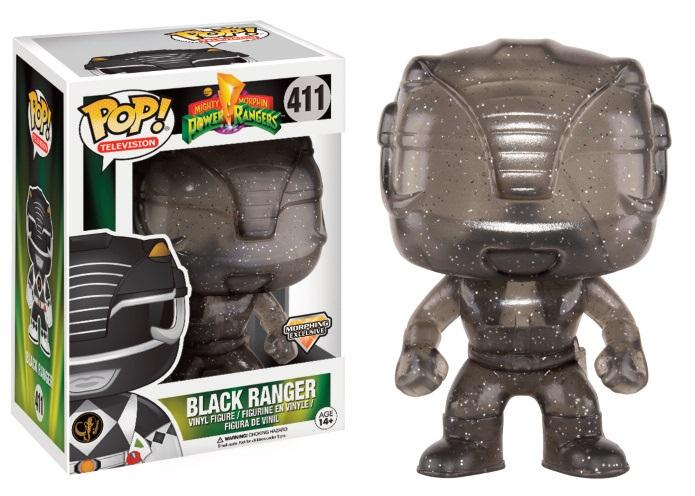 POWER RANGERS - Bobble Head POP N° 411 - Black Ranger Morphing LTD
