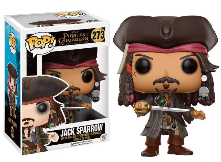 POTC DEAD MAN ... - Bobble Head POP N° 273 - Jack Sparrow