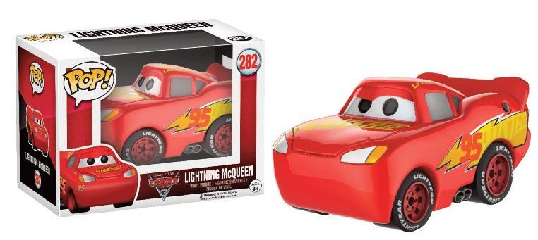 DISNEY - Bobble Head POP N° 282 - Cars 3 - McQueen Chromed LTD