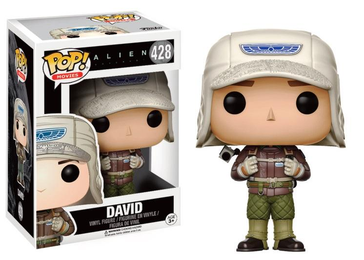 ALIEN COVENANT - Bobble Head POP N° 428 - David