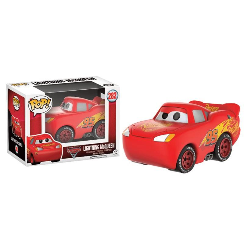 CARS - Bobble Head POP N° 282 - Lightning Mc Queen