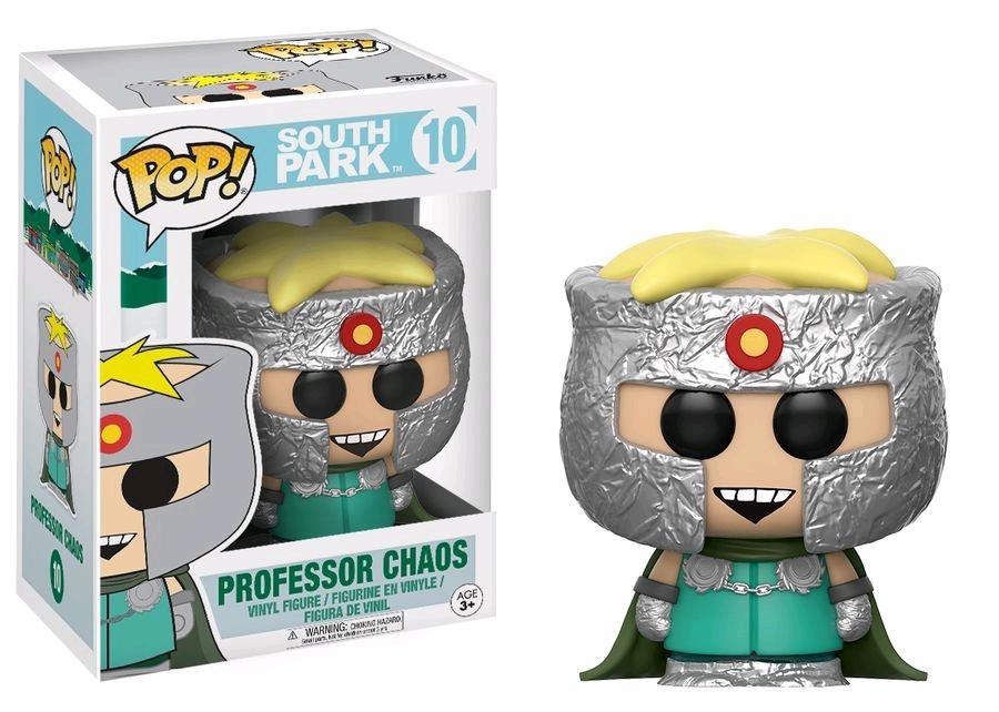SOUTH PARK - Bobble Head POP N° 10 - Professor Chaos