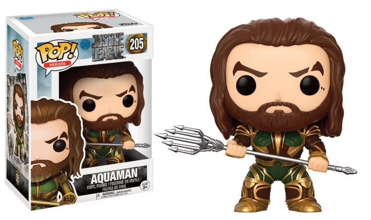 JUSTICE LEAGUE MOVIE - Bobble Head POP N° 205 - Aquaman