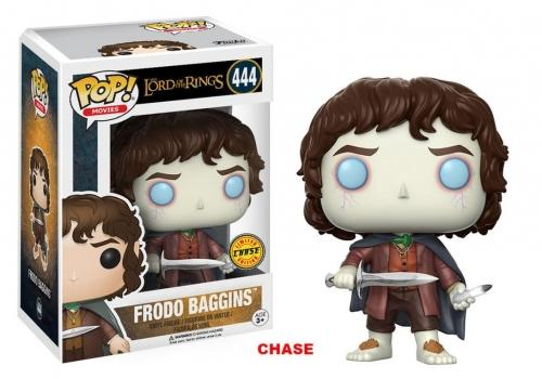 LORD OF THE RINGS - Bobble Head POP N° 444 - Frodo Baggins  CHASE