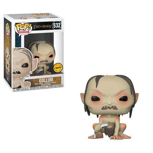 LORD OF THE RINGS - Bobble Head POP N° 532 - Gollum CHASE EDITION