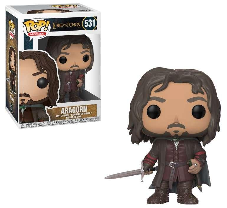 LORD OF THE RINGS - Bobble Head POP N° 531 - Aragorn