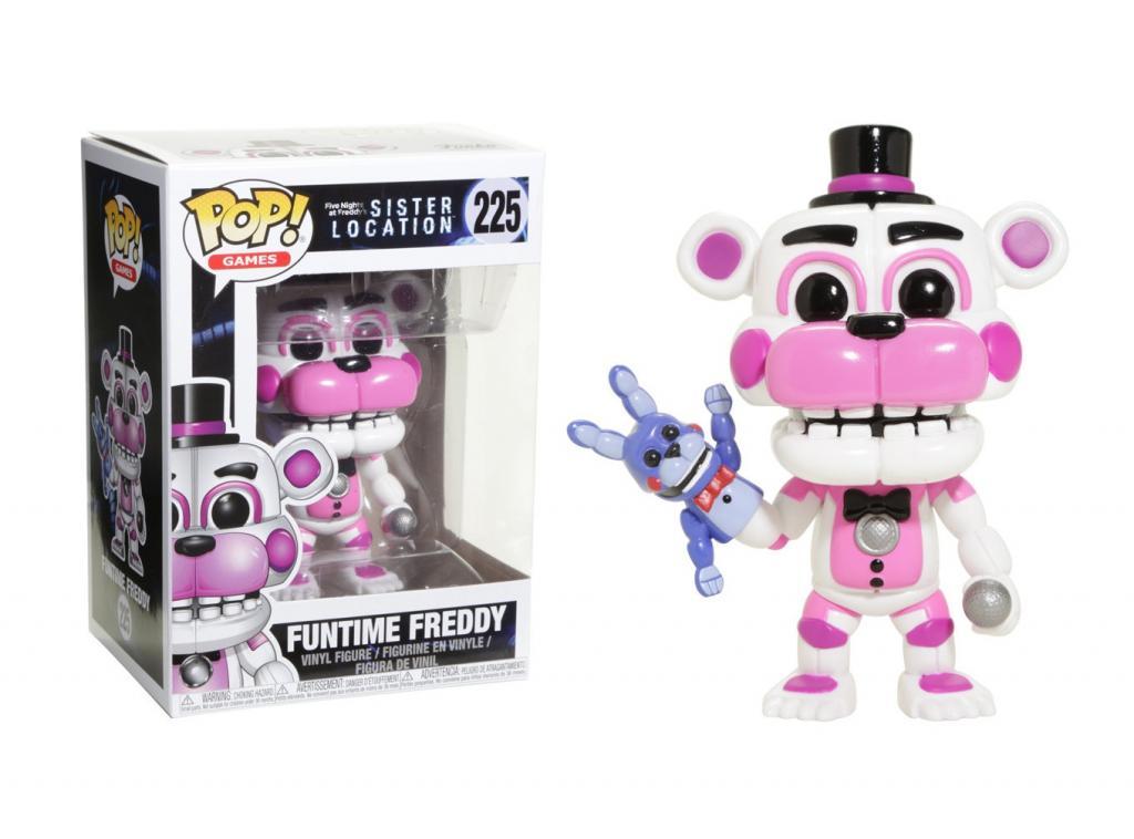 FIVE NIGHTS AT FREDDY'S - Bobble Head POP N° 225 - Funtime Freddy