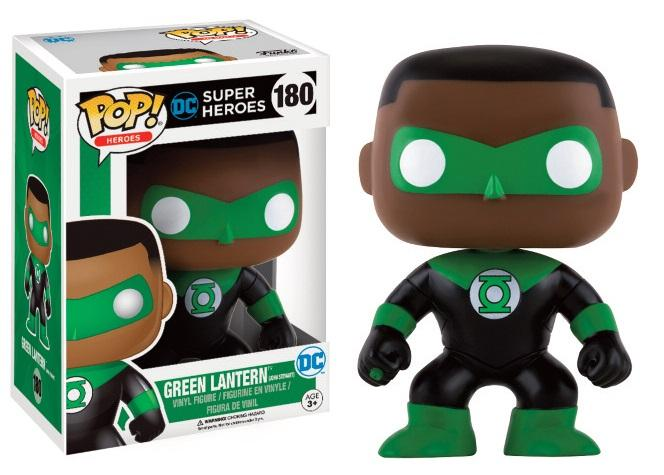 DC COMICS - Bobble Head POP N° 180 - Green Lantern - John Stewart LTD