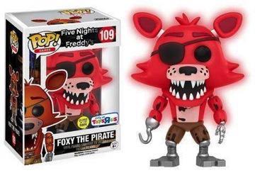 FIVE NIGHTS AT FREDDY'S - Bobble Head POP N° 109 - Foxy Red GITD LTD