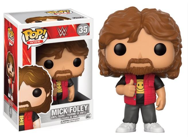 WWE - Bobble Head POP N° 35 - Mick Foley - Old School_2