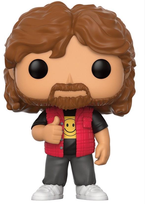 WWE - Bobble Head POP N° 35 - Mick Foley - Old School_3