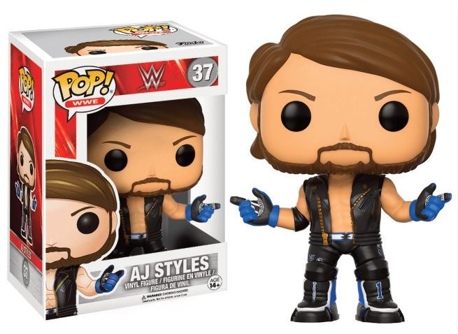 WWE - Bobble Head POP N° 37 - AJ Styles