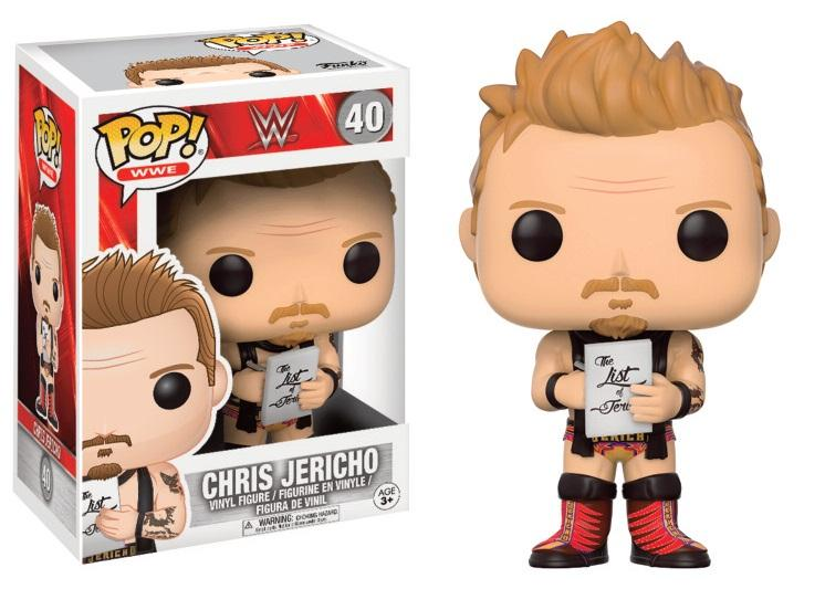 WWE - Bobble Head POP N° 40 - Chris Jericho