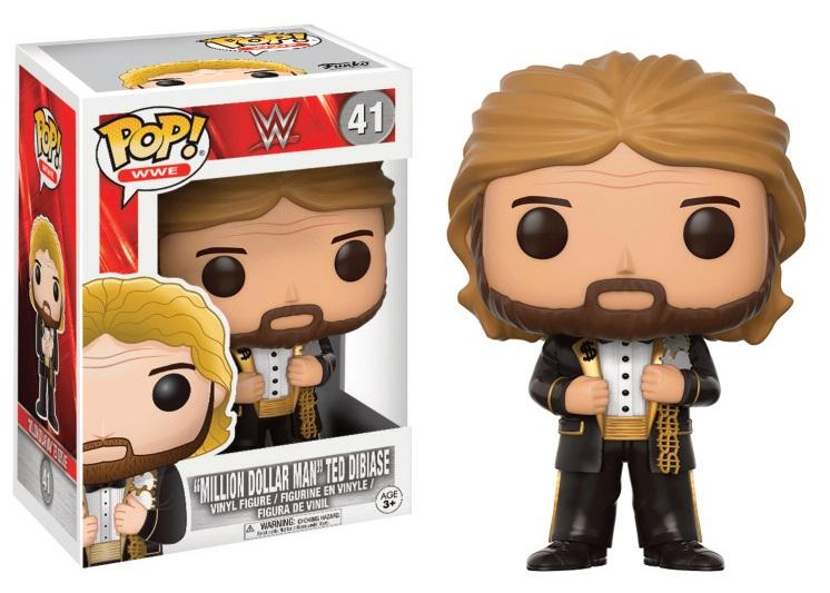 WWE - Bobble Head POP N° 41 - Million Dollar Man