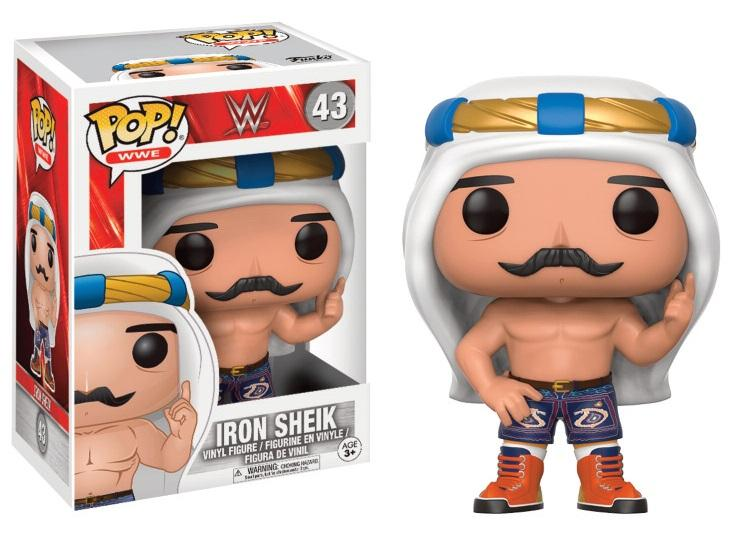 WWE - Bobble Head POP N° 43 - Iron Sheik_1