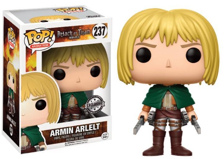 ATTACK ON TITAN - Bobble Head POP N° 237 - Armin Artlelt LTD