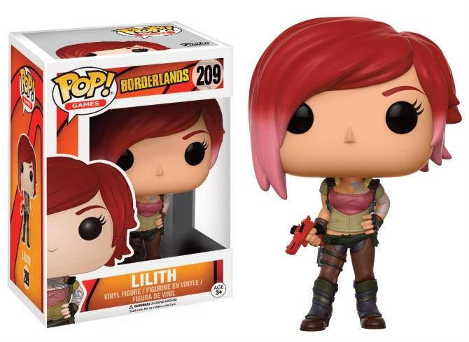 BORDERLANDS - Bobble Head POP N° 209 - Lilith