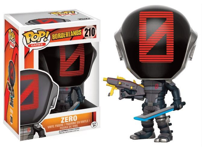 BORDERLANDS - Bobble Head POP N° 210 - Zero