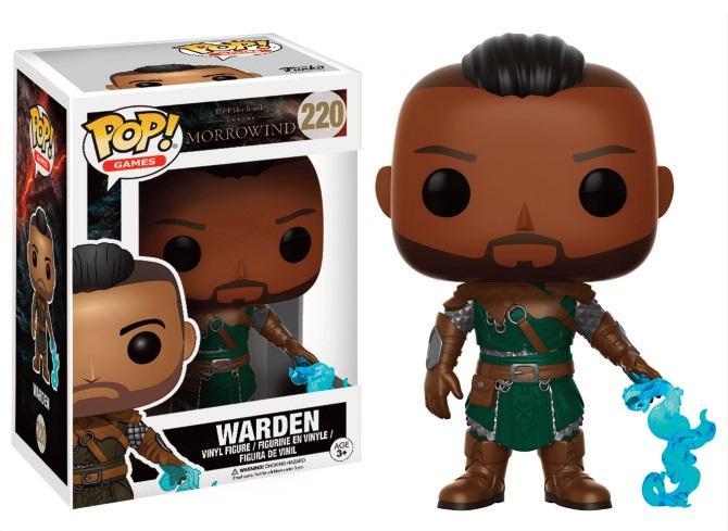 MORROWIND - Bobble Head POP N° 220 - Warden