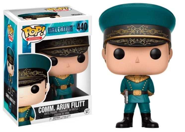 VALERIAN - Bobble Head POP N° 440 - Commander Arun Filitt_2