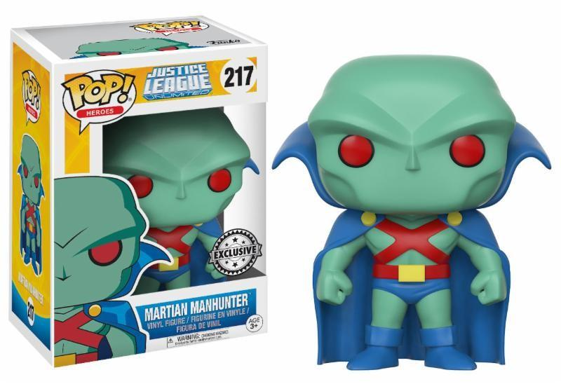 JUSTICE LEAGUE ANIMATED - Bobble Head POP N° 217 - Martian Manhunter