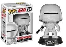 STAR WARS 8 The Last Jedi - Bobble Head POP N° 67 - F.O.Snowtrooper