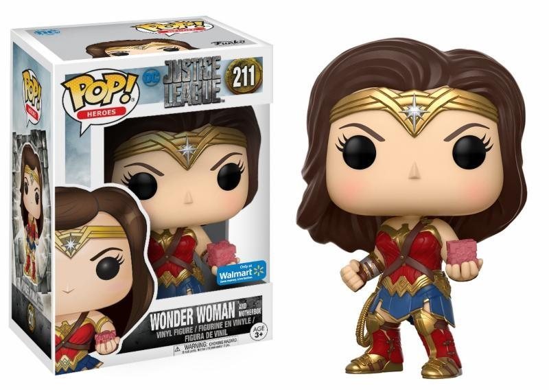 JUSTICE LEAGUE - Bobble Head POP N° 211 - Wonder Woman Limited