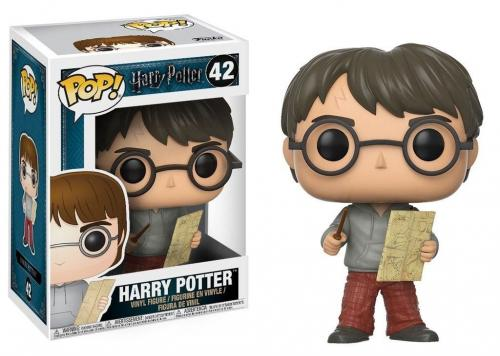 HARRY POTTER - Bobble Head POP N° 42 - Harry with Marauders Map