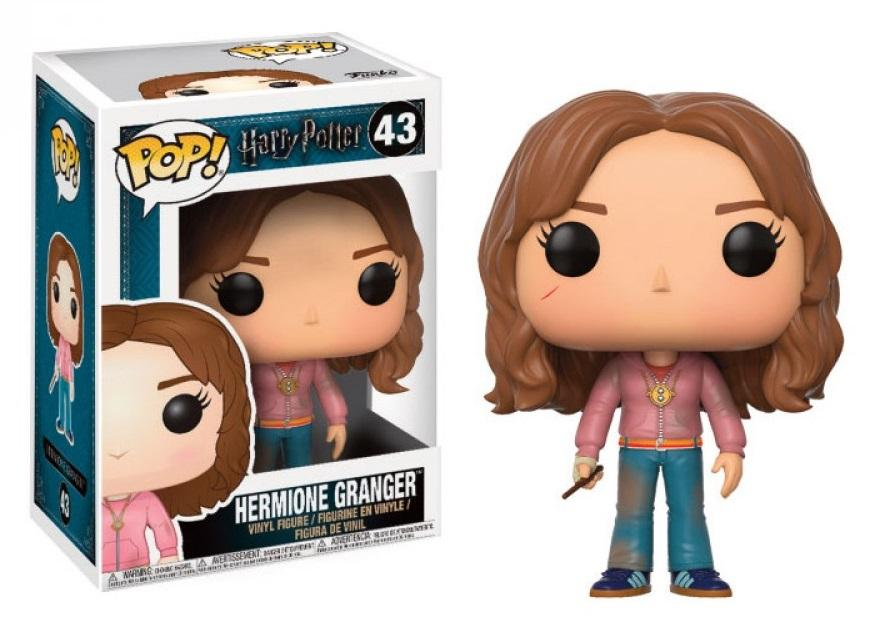 HARRY POTTER - Bobble Head POP N° 43 - Hermione with Time Turner (*)_1