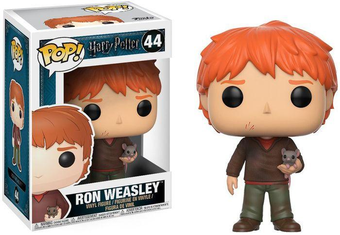 HARRY POTTER - Bobble Head POP N° 44 - Ron with Scabbers_2