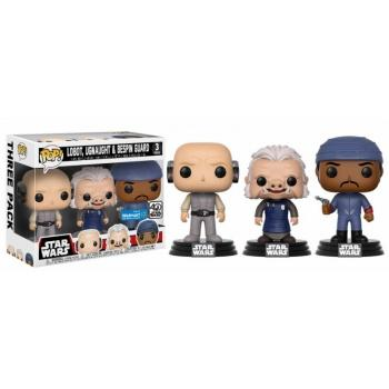 STAR WARS - Bobble Head POP 3-Pack - Lobo/Ugnaught/Bespin Guard