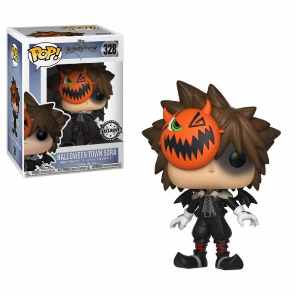 KINGDOM HEARTS - Bobble Head POP N° 328 - Halloween Sora (LIMITED)