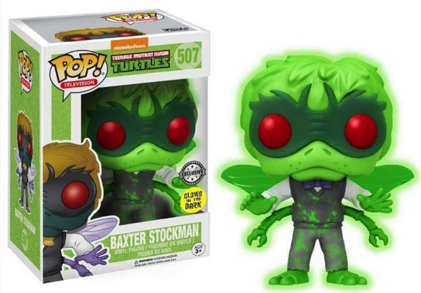 TMNT - Bobble Head POP N° 507 - Baxter Stockman GITD LIMITED