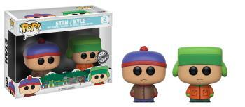 SOUTH PARK - Bobble Head POP - Stan and Kyle 2-Pack LIMITED EDITION