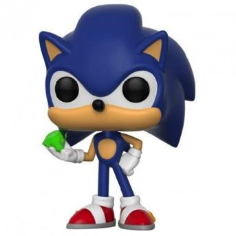 SONIC - Bobble Head POP N° xxx - Sonic with Emerald