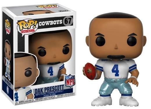 NFL - Bobble Head POP N° 67 - Cowboys Home - Dak Prescott