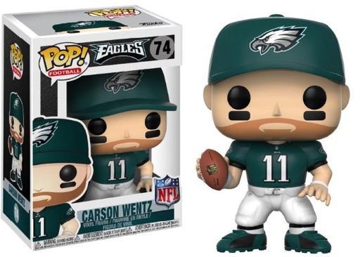 NFL - Bobble Head POP N° 74 - Eagles Home - Carson Wentz