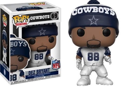 NFL - Bobble Head POP N° 69 - Cowboys Color Rush - Dez Bryant