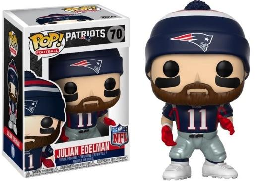 NFL - Bobble Head POP N° 70 - Patriots Home - Julian Edelman