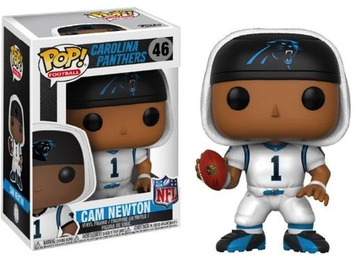 NFL - Bobble Head POP N° 46 - Panthers White - Cam Newton