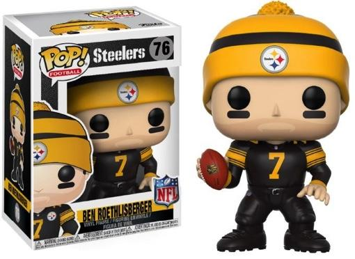 NFL - Bobble Head POP N° 76 - Steelers Color Rush - Ben Roethlisberger