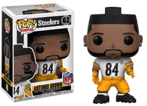 NFL - Bobble Head POP N° 62 - Steelers Color Rush - Antonio Brown