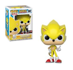 SONIC - Bobble Head POP N° 287 - Super Sonic LIMITED
