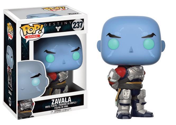 DESTINY - Bobble Head POP N° 237 - Commander Zavala