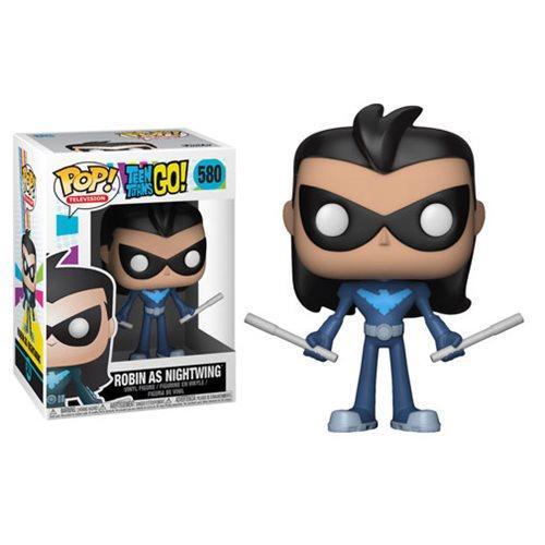 TEEN TITANS GO - Bobble Head POP N° 580 - Robin as Nightwing