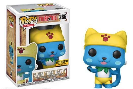 FAIRY TAIL - Bobble Head POP N° 286 - Happy Swim Time