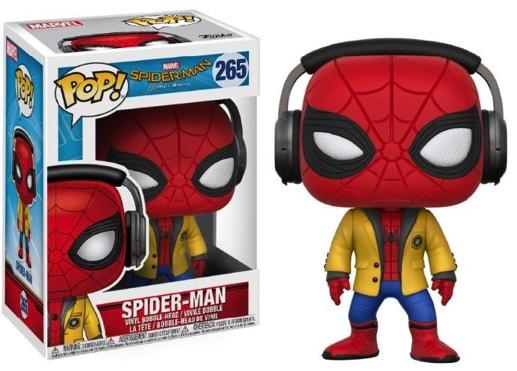 MARVEL - Bobble Head POP N° 265 - Spider-Man with Headphones (*)
