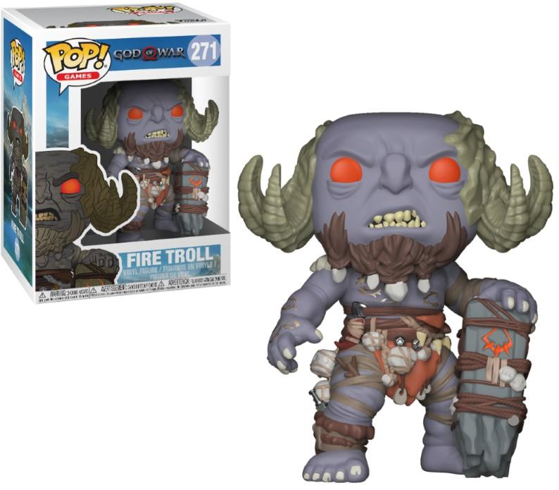 GOD OF WAR - Bobble Head POP N° 271 - Fire Troll